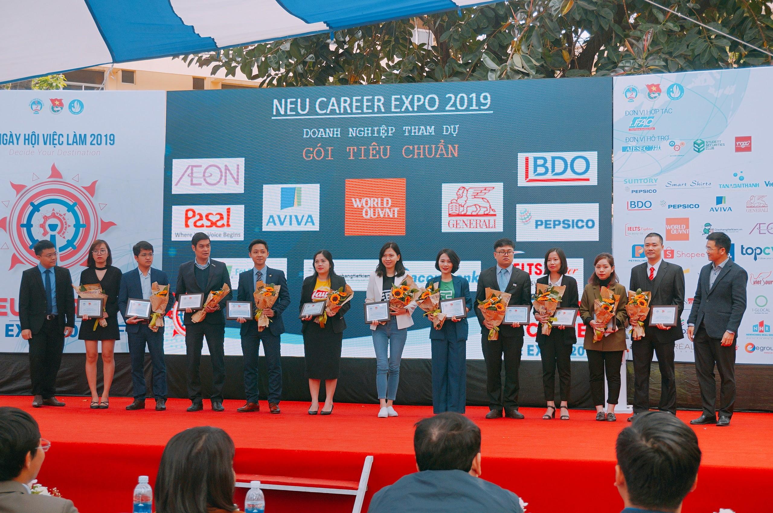 BDO tham dự ngày hội việc làm NEU Career Expo